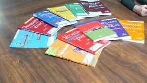 Quelques livres utilisés pour la formation