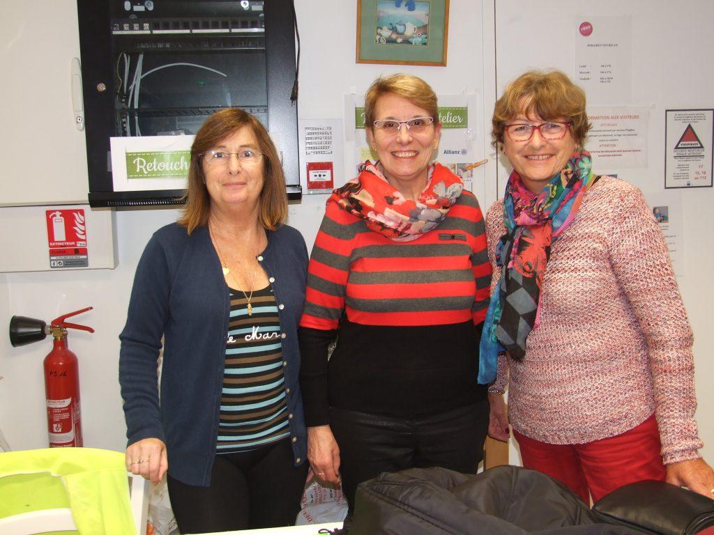 Annick, Christiane et Annie