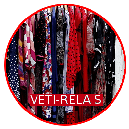 VETI-RELAIS : Récupération de vêtements et accessoires domestiques à l'attention des personnes en difficulté.